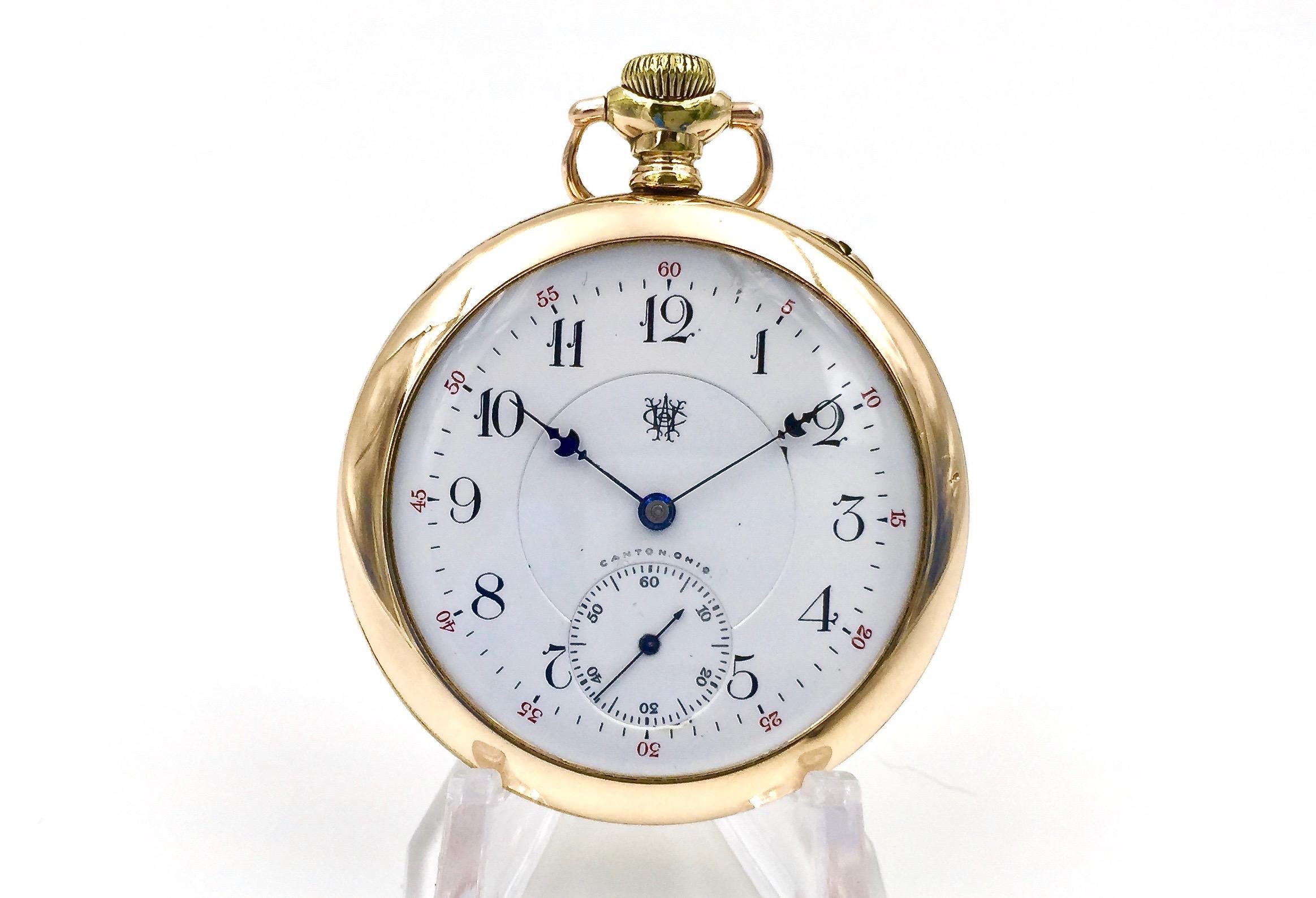 dueber hampden pocket watch serial number