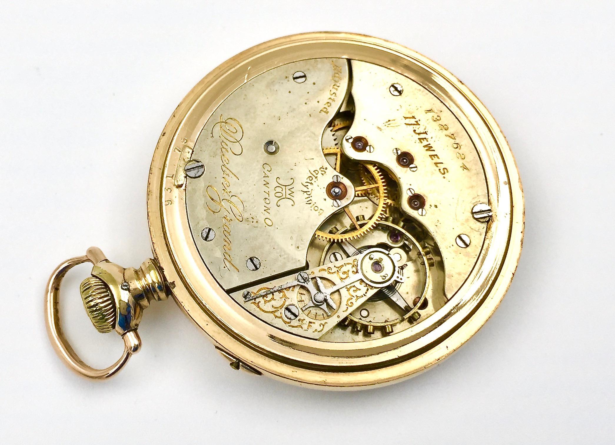 Dueber Pocket Watch Case Serial Number