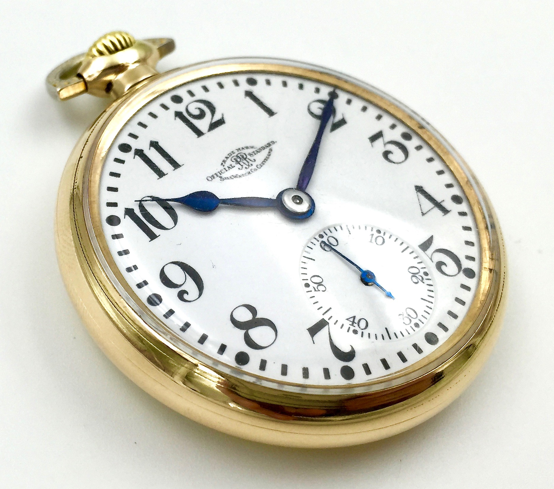 waltham railroad ball watch standard filled products gold pocket watches antique by jewels official