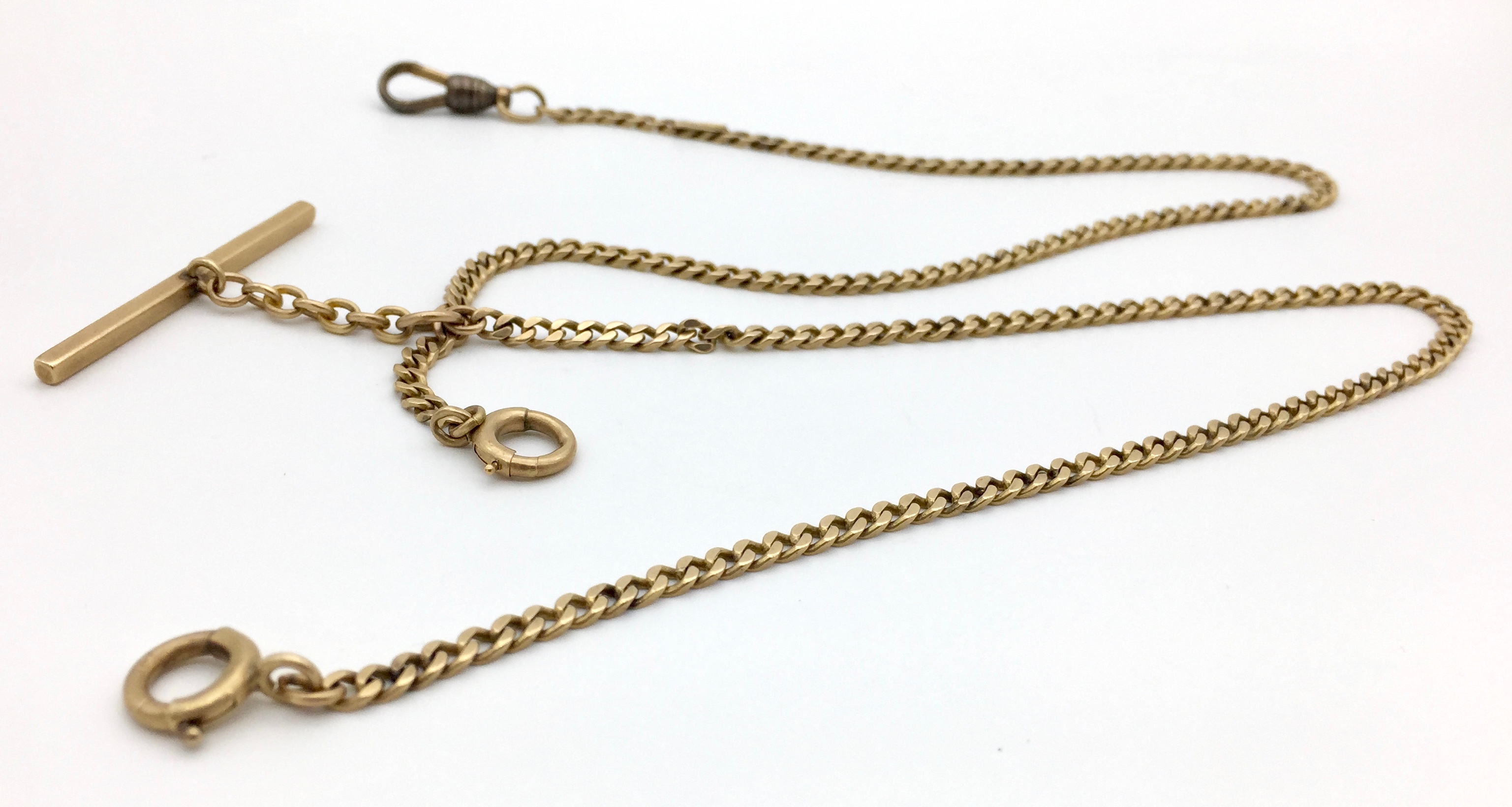 gf pin and chains bar swivel or waldemar with sterling vest links chain anson